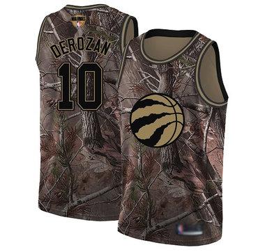 Raptors #10 DeMar DeRozan Camo 2019 Finals Bound Basketball Swingman Realtree Collection Jersey