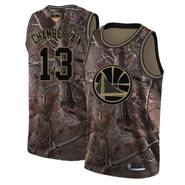 Warriors #13 Wilt Chamberlain Camo 2019 Finals Bound Basketball Swingman Realtree Collection Jersey