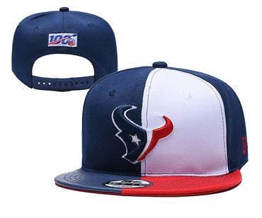 Texans Team Logo Navy 2019 Draft Adjustable Hat YD