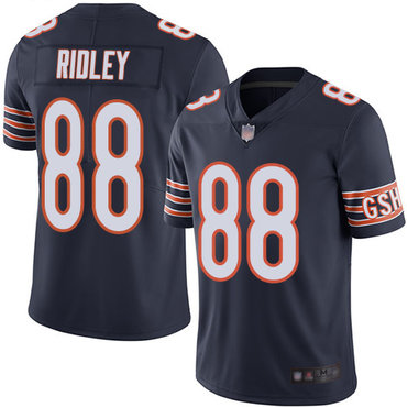 Nike Bears 88 Riley Ridley Navy Vapor Untouchable Limited Jersey