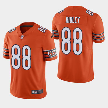Nike Bears 88 Riley Ridley Orange Vapor Untouchable Limited Jersey