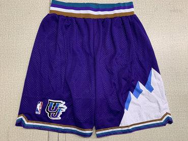 Jazz Purple Nike Swingman Mesh Shorts