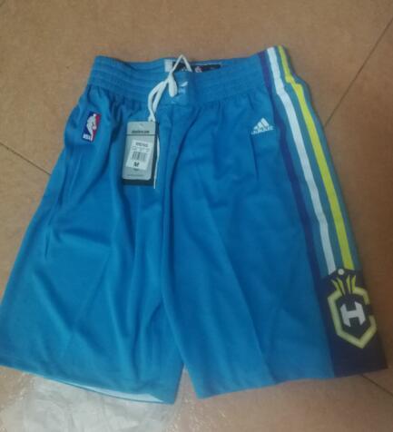 Men's New Orleans Pelicans Light Blue Basketball Shorts