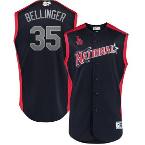 MLB National League 35 Cody Bellinger Navy 2019 All-Star Game Men Jersey