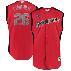 MLB American League 26 DJ LeMahieu Red 2019 All-Star Game Men Jersey
