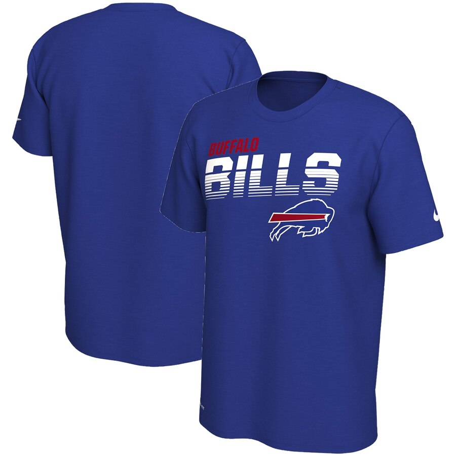 Buffalo Bills Nike Sideline Line of Scrimmage Legend Performance T Shirt Royal