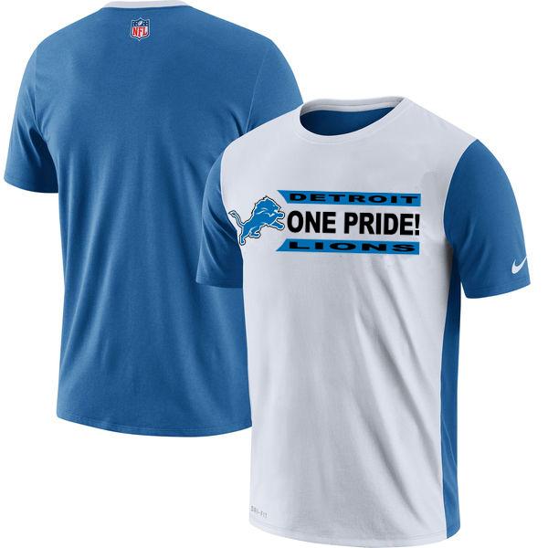 NFL Detroit Lions Nike Performance T Shirt White