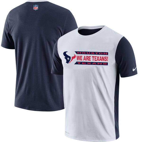 NFL Houston Texans Nike Performance T Shirt White