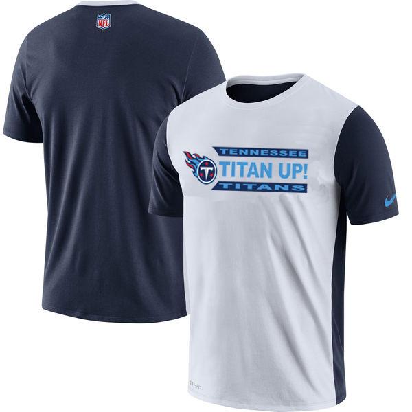 NFL Tennessee Titans Nike Performance T Shirt White
