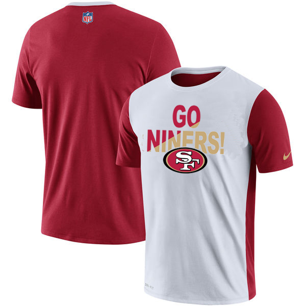 San Francisco 49ers Nike Performance T Shirt White