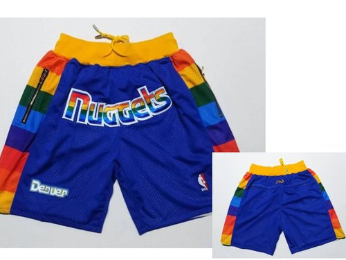 Nuggets Blue Just Don Mesh Shorts