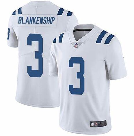Nike Indianapolis Colts #3 Rodrigo Blankenship White Vapor Untouchable Limited Jersey
