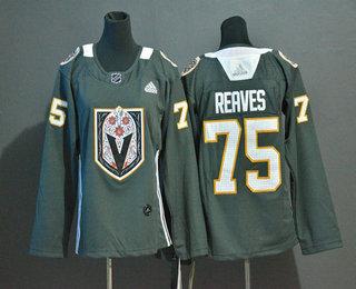 Youth Vegas Golden Knights #75 Ryan Reaves Gray Dia De Los Muertos Adidas Jersey