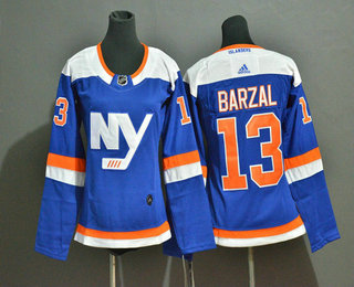Youth New York Islanders #13 Mathew Barzal New Blue Home 2019 Hockey Adidas Stitched NHL Jersey