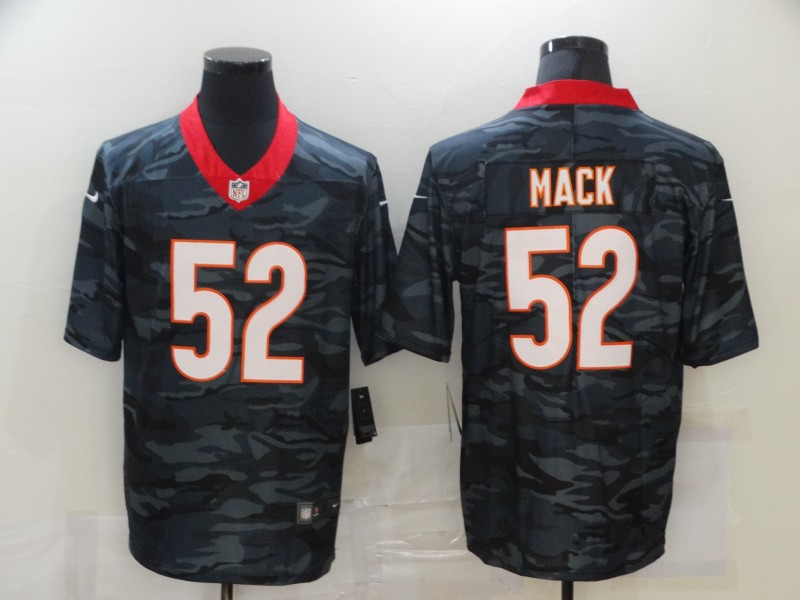 Men's Chicago Bears #52 Khalil Mack 2020 Camo Limited Stitched Nike NFL Jersey