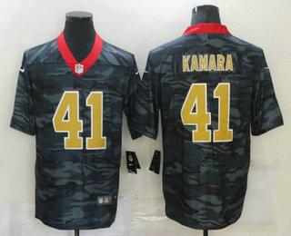 Men's New Orleans Saints #41 Alvin Kamara 2020 Camo Limited Stitched Nike NFL Jersey