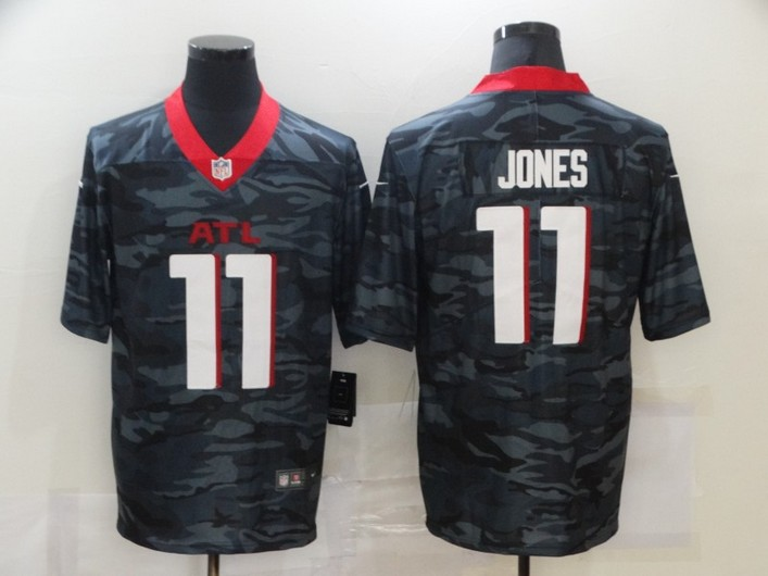 Men's Atlanta Falcons #11 Julio Jones 2020 Camo Limited Stitched Nike NFL Jersey