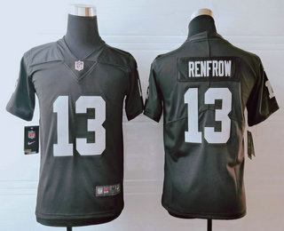 Youth Las Vegas Raiders #13 Hunter Renfrow Black 2019 Vapor Untouchable Stitched NFL Nike Limited Jersey