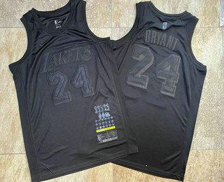 Men's Los Angeles Lakers #24 Kobe Bryant Black 2019 MVP Nike AU Stitched NBA Jersey