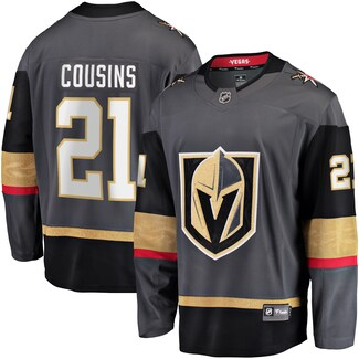 Men's Vegas Golden Knights #21 Nick Cousins Fanatics Branded Gray Breakaway Home Player Jersey
