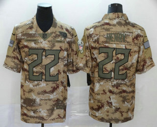 Men's Tennessee Titans #22 Derrick Henry Nike Camo 2018 Salute to Service Stitched NFL Limited Jersey