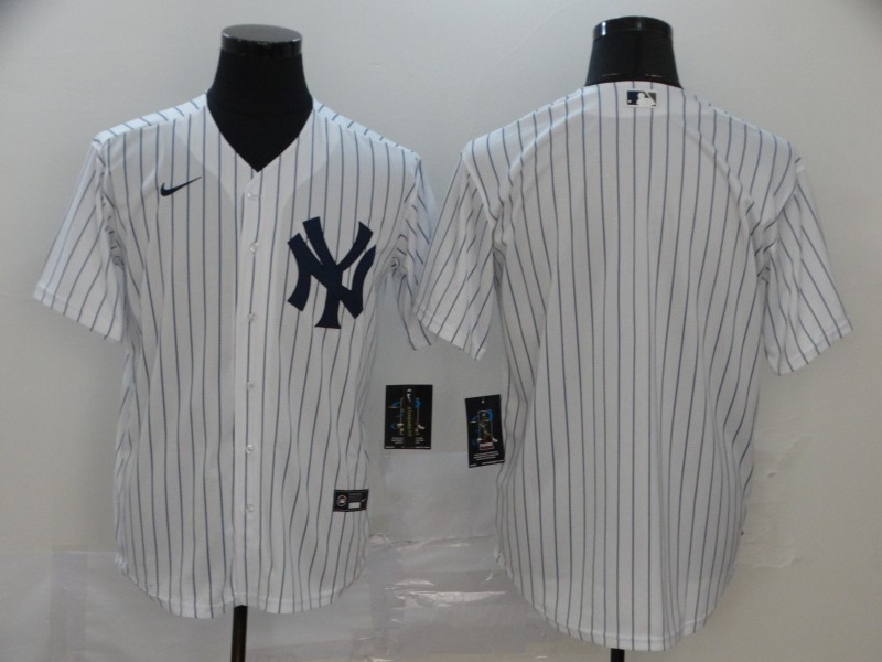 Men's New York Yankees Blank Stitched MLB Cool Base Nike Jersey