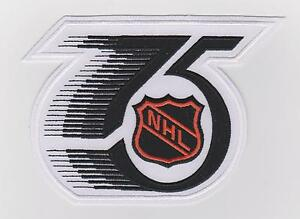 NHL 75TH ANNIVERSARY JERSEY PATCH