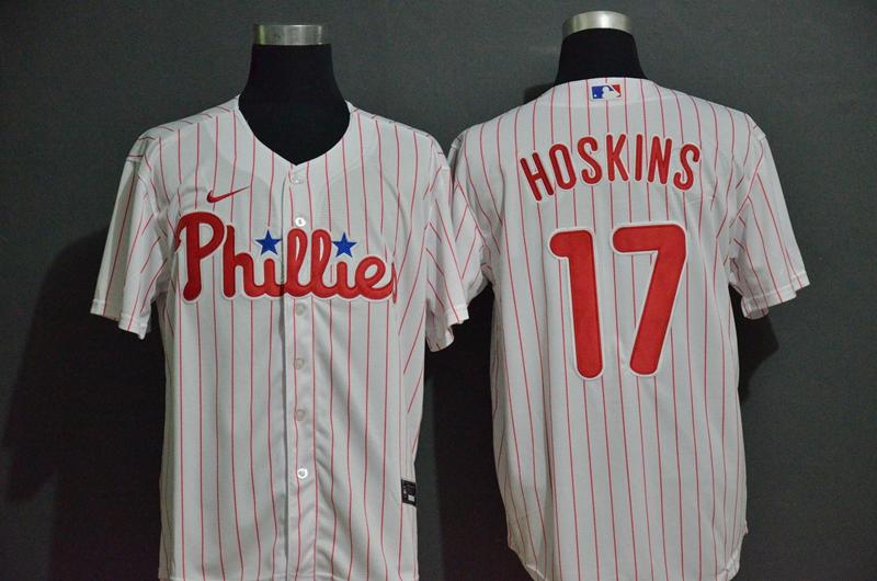 Men's Philadelphia Phillies #17 Andrew McCutchen White Stitched MLB Cool Base Nike Jersey