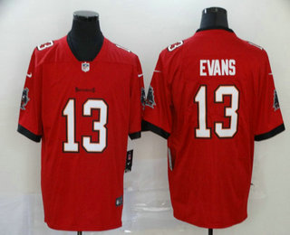 Men's Tampa Bay Buccaneers #13 Mike Evans Red 2020 NEW Vapor Untouchable Stitched NFL Nike Limited Jerseys