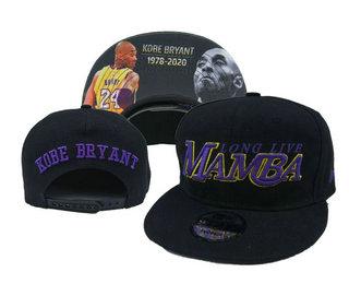 Los Angeles Lakers Snapback Ajustable Cap Hat YD 20-04-07-22