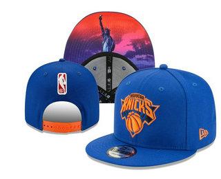 New York Knicks Snapback Ajustable Cap Hat YD 20-04-07-01