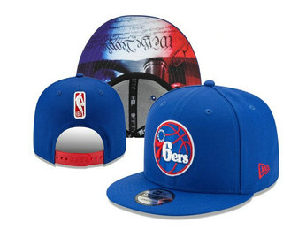 Philadelphia 76ers Snapback Ajustable Cap Hat YD 20-04-07-02
