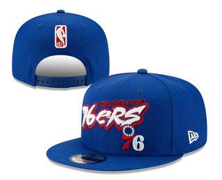 Philadelphia 76ers Snapback Ajustable Cap Hat YD 20-04-07-04