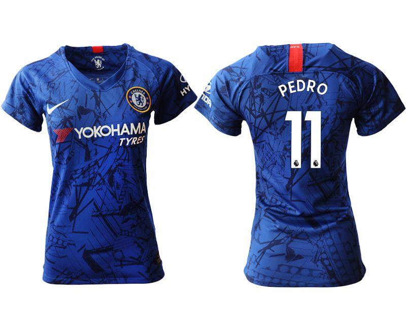 Women 2019-2020 club Chelsea home aaa version 11 blue Soccer Jerseys