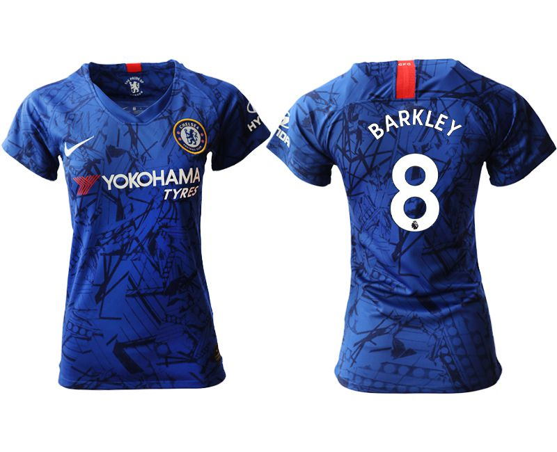 Women 2019-2020 club Chelsea home aaa version 8 blue Soccer Jerseys