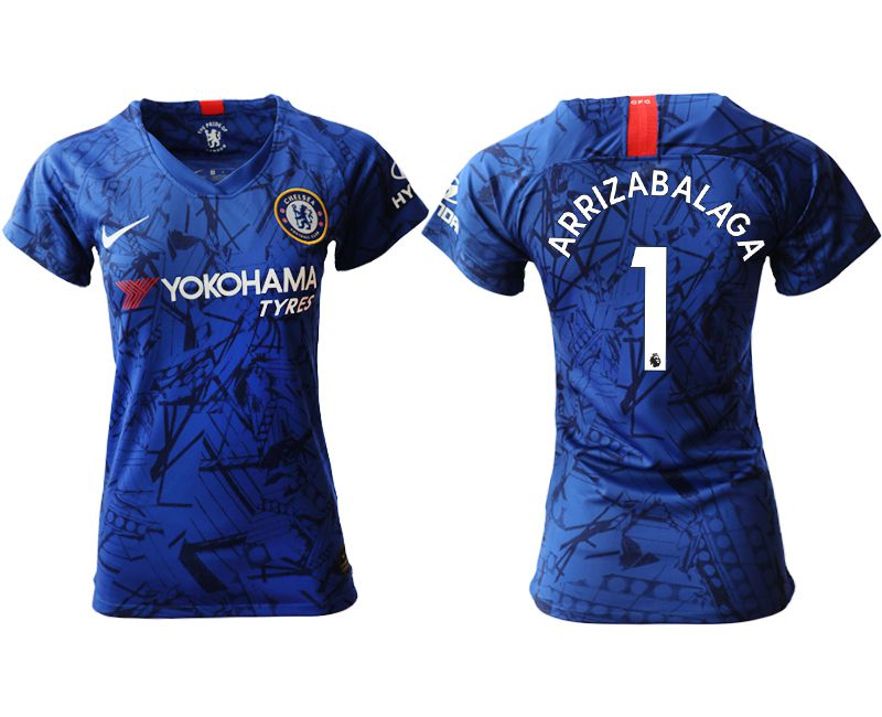 Women 2019-2020 club Chelsea home aaa version 1 blue Soccer Jerseys