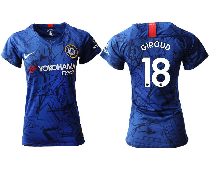 Women 2019-2020 club Chelsea home aaa version 18 blue Soccer Jerseys