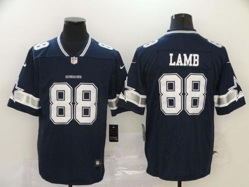Men's Dallas Cowboys #88 CeeDee Lamb Navy Blue 2020 NEW Vapor Untouchable Stitched NFL Nike Limited Jersey