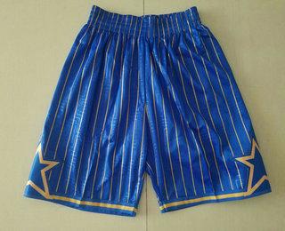 Men's Orlando Magic Blue 1994-95 Hardwood Classics Soul Swingman Throwback Shorts