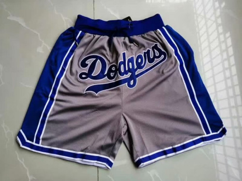 Men's Los Angeles Dodgers Just Don 2020 Gray Shorts