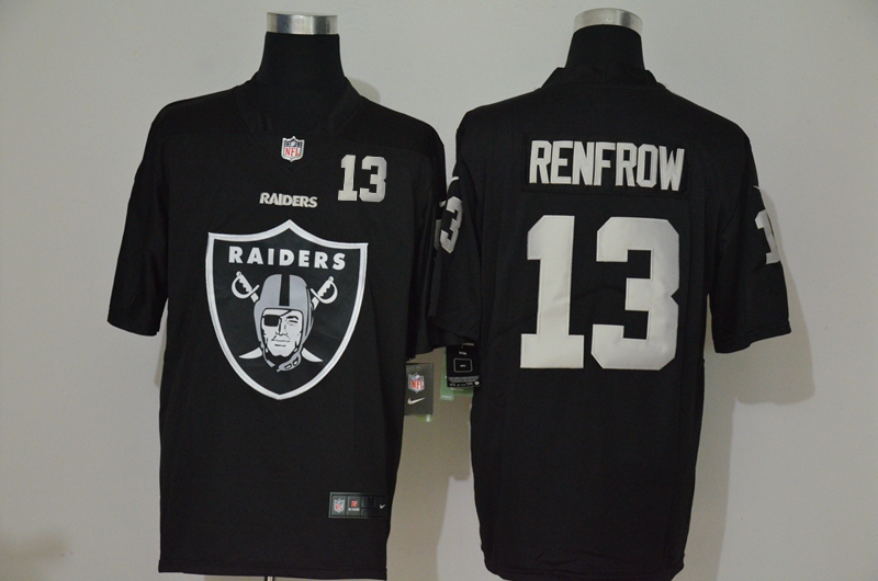 Men's Las Vegas Raiders #13 Hunter Renfrow Black 2020 Big Logo Number Vapor Untouchable Stitched NFL Nike Fashion Limited Jersey