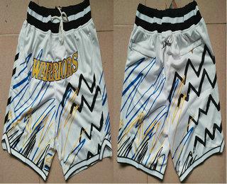 Men's Golden State Warriors White Lightning Just Don Swingman Shorts