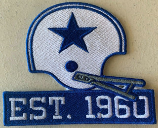 Dallas Cowboys 60th anniversary Seasons Patch