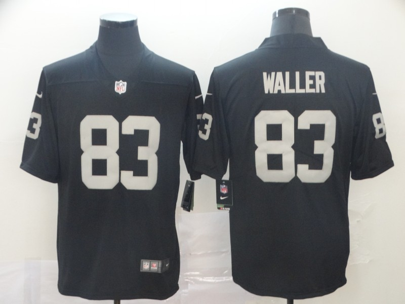 Men's Oakland Raiders #83 Darren Waller Black Vapor Untouchable Limited Stitched NFL Jersey