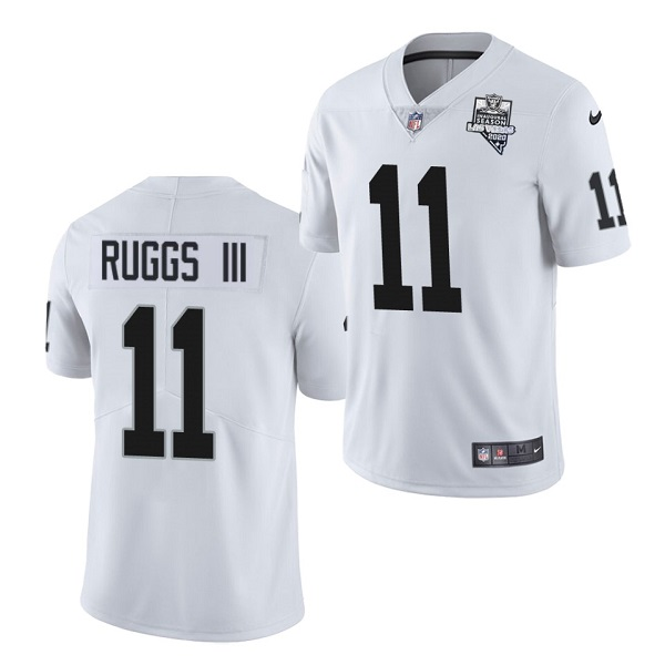 Men's Las Vegas Raiders #11 Henry Ruggs III White 2020 Inaugural Season Vapor Limited Stitched Jersey