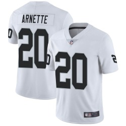 Youth Las Vegas Raiders #20 Damon Arnette Limited White Vapor Untouchable Jersey