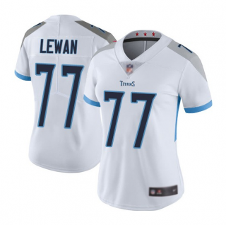 Women's White Tennessee Titans #77 Taylor Lewan Vapor Untouchable Limited Stitched Football Jersey