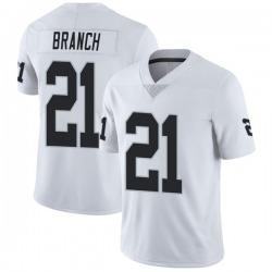 Men's Las Vegas Raiders #21 Cliff Branch White Vapor Untouchable Stitched NFL Nike Limited Jersey
