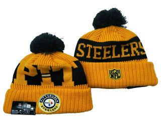 Pittsburgh Steelers Beanies Hat YD 3