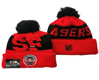 San Francisco 49ers Beanies Hat 1